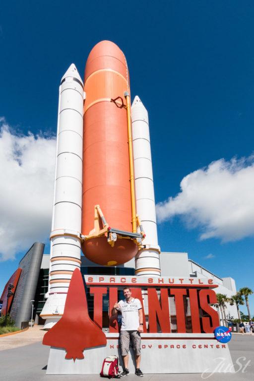 Alex und Ente im Spacecenter
