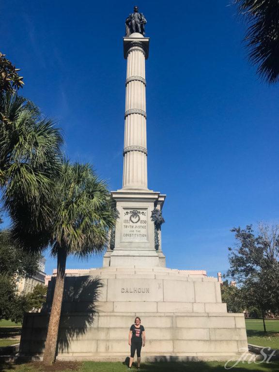 Jule am John C. Calhoun Monument