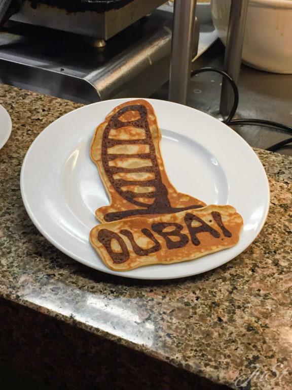 Burj Al Arab Pfannkuchen