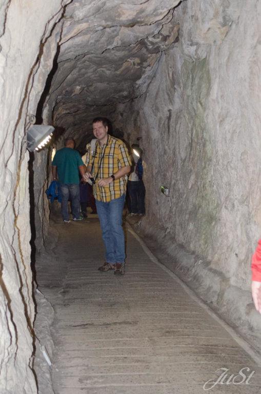 Bild Alex in den Belagerungshöhlen