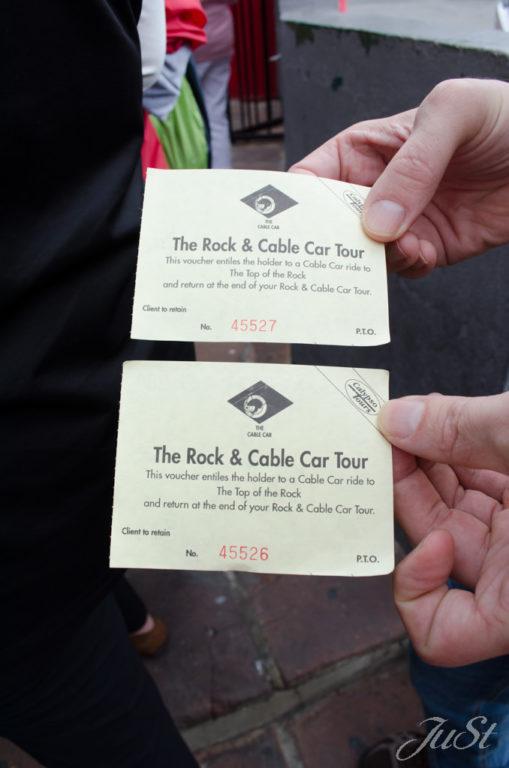 Bild Tickets zum Affenfelsen