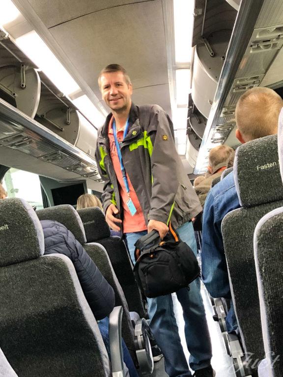 Bus zum Flughafen