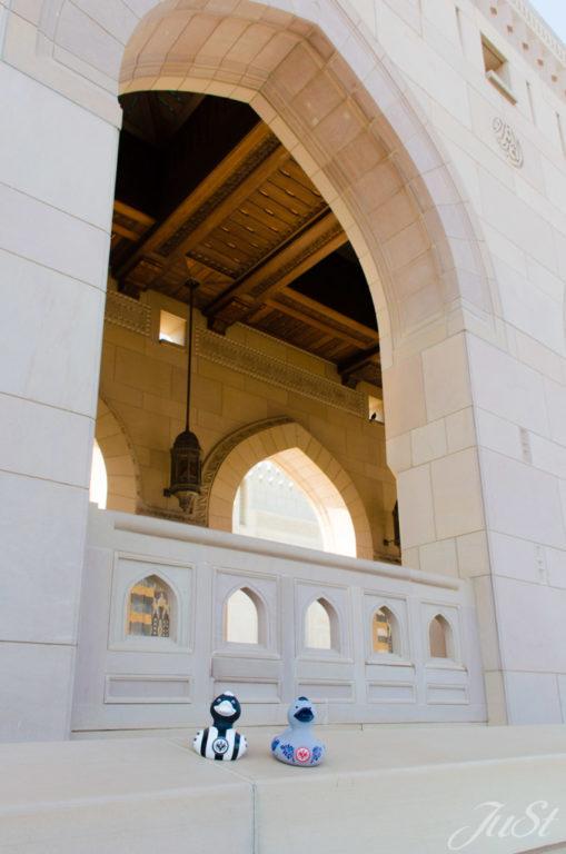 Enten vor Muscat Moschee