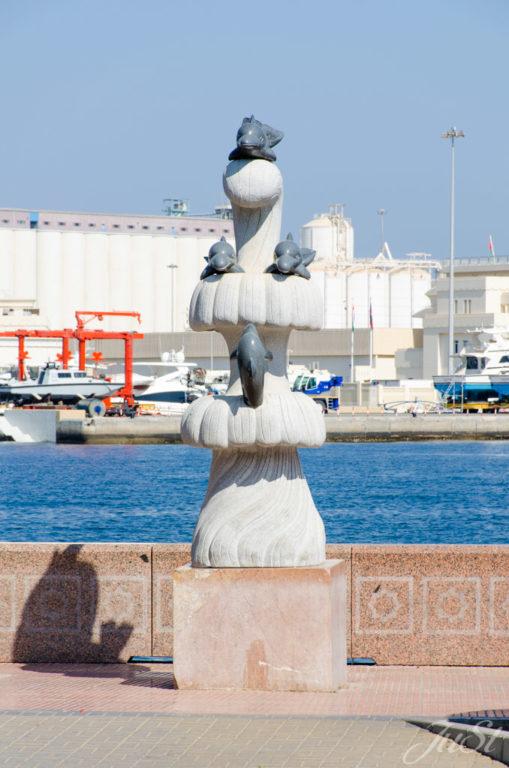 Definstatue in Muscat