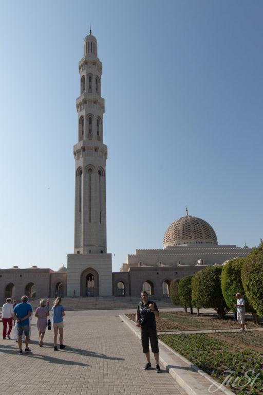 Alex vor Mascat Moschee