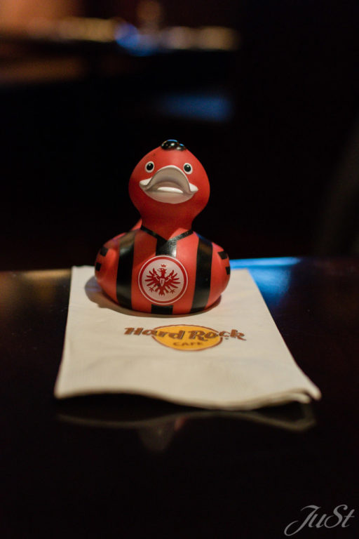 Ente im Hard Rock Cafe New York